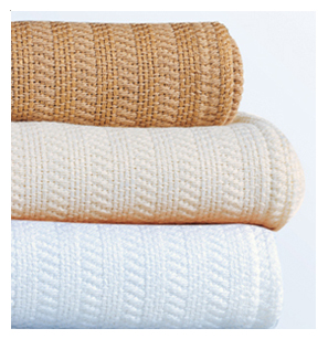thermal cotton blanket. 100% Cotton Thermal Blanket